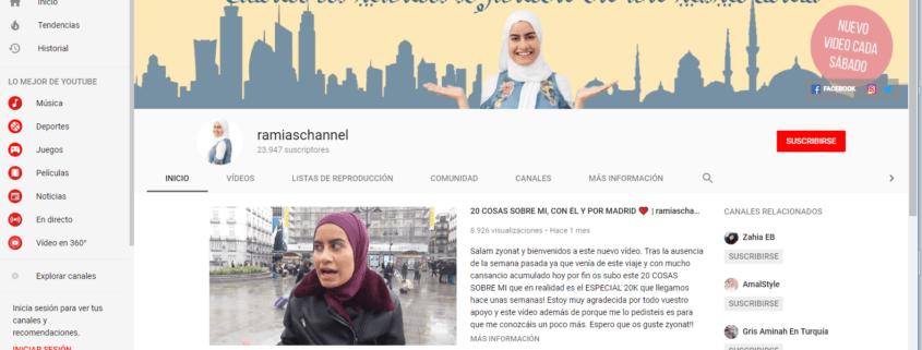 Youtube, influencers, DIVEM, diversidad, mujer, islam, mujer negra, china