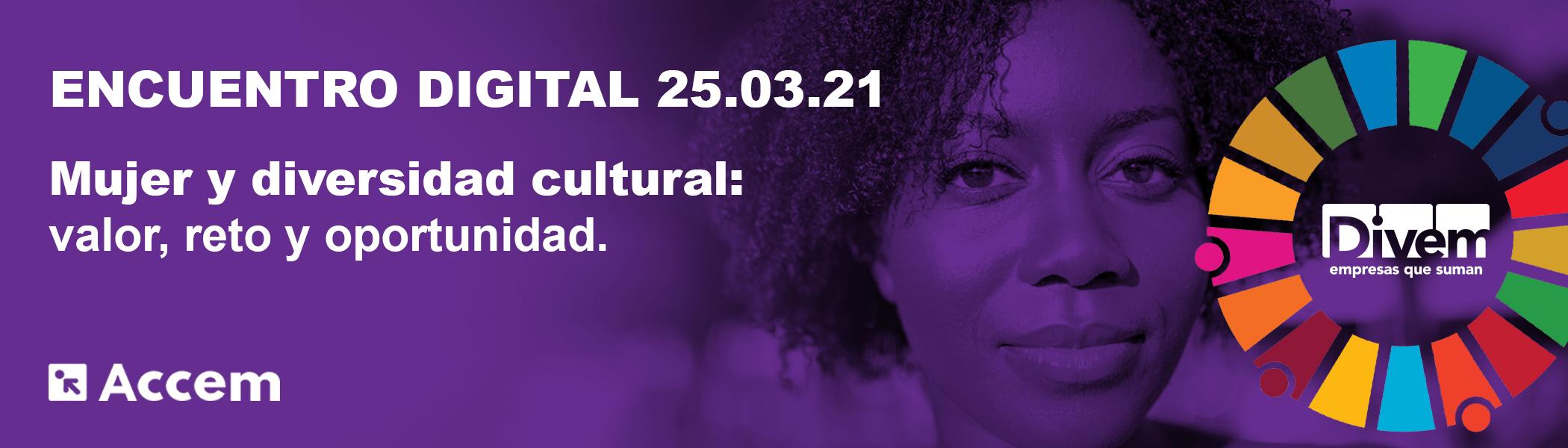 """Encuentro DIVEM """"Mujer y diversidad cultural: valor, reto y oportunidad"""""""
